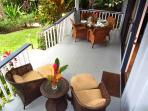 Spacious Lanai is perfect for al fresco dining