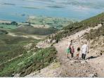 Descending Croagh Patrick