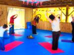 Shibana's yoga class