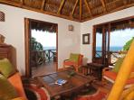 Casa Coco's living room