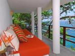Take a siesta on the secluded outdoor couch below Casa Mirador
