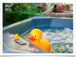 You own hot tub.
