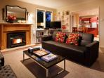 Eliza's spacious open plan living rooms. Perfect for reunions with dear friends and family.
