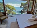 Wake up to this view from your king bed in Casa Mirador