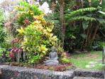 Garden with Buddha
