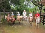 Ride Horseback to the Waterfalls
