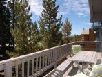 Dine or lounge among the Pines on the middle floor deck.