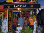 One of many Surf Schools is in town