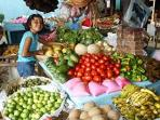 Visit the market for local grown fruits and vegetables