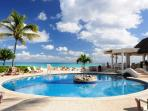 Xaman Ha pool in paradise