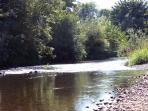 Calapooia River - Historic C.J. Howe Building Vacation Rental, Brownsville Oregon