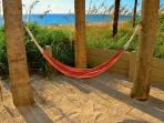 Private Beach Hammock...