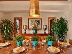 Sea Mist Villa 2403 - Interior Formal Dining Room with Panoramic Ocean and Resort Views. Can be closed off for private...
