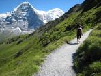Follow the Eiger trail