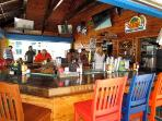 Tiki Bar food and drinks