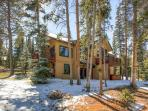 White Wolf Townhome in Winter Breckenridge Lodging Vacation Rent