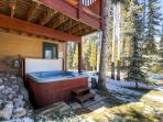 White Wolf Townhome Hot Tub Deck Breckenridge Lodging Vacation R