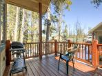 White Wolf Townhome Deck off Living Room Breckenridge Lodging