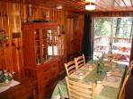 Dining Area - Twain Harte Lodging