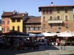 Piazza San Fedele at 5 minutes walking