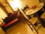 Relax on the traditional Cretan handmade sofa at the end of the day