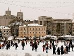 Minsk winter