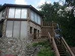 Exterior of the Aspen Ski Loft at Beech Mountain, North Carolina