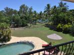 Pool - Top Verandah View