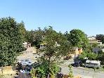 Views from balcony.