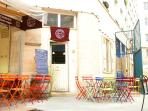 Cafe in Market Enfant Rouges