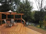 Deck with River View