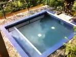 Our new plunge pool