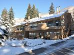 One bedroom one bathroom condo in East Vail on free Vail bus Shuttle