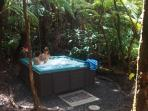 Hot Tub in the Forest