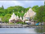 Lake Harriet Bandshell with Free Concerts just a few miles east