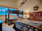 Master with Queen Bed, Bunks, and Private Bath