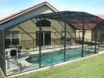 Rear of Villa with Pool/Spa