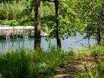 Path down to Table Rock Lake