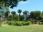 View of the 2 ha park