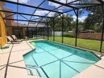 Extended Private Pool Area