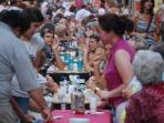 Pozsonyi days , a yearly festival on the street where is the apartment , with live music