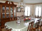 Dining Room - We provide Wedgewood China for 12