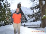Owner/Operator Greg Wright (my incredible husband)