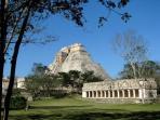 Uxmal pyramid & Governors Palace