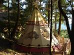 #6 Tipi Bedroom (extra fee must be ordered separately)