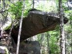 Appalachian Trail - Piazza Rock, a few miles from Meadowood