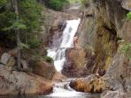 Smalls Falls- a great picnic spot!