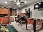Bunk Room--Pinball machine