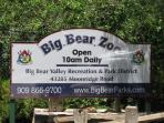 Big Bear Zoo.  1 block from Lassen Lodge