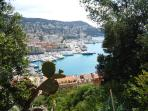 Port from Chateau.  Take a cruise or a ferry to Corsica